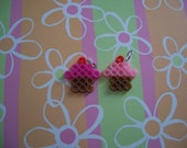 PIF Cute cupcake perler bead charms
