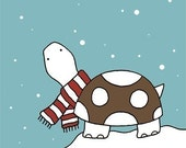 Turtle in the Snow (Limited Edition Print)