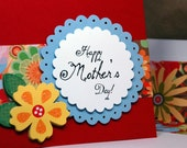Happy Mother's Day Flowers Card FREE SHIPPING GIFTCARD and Money Holder