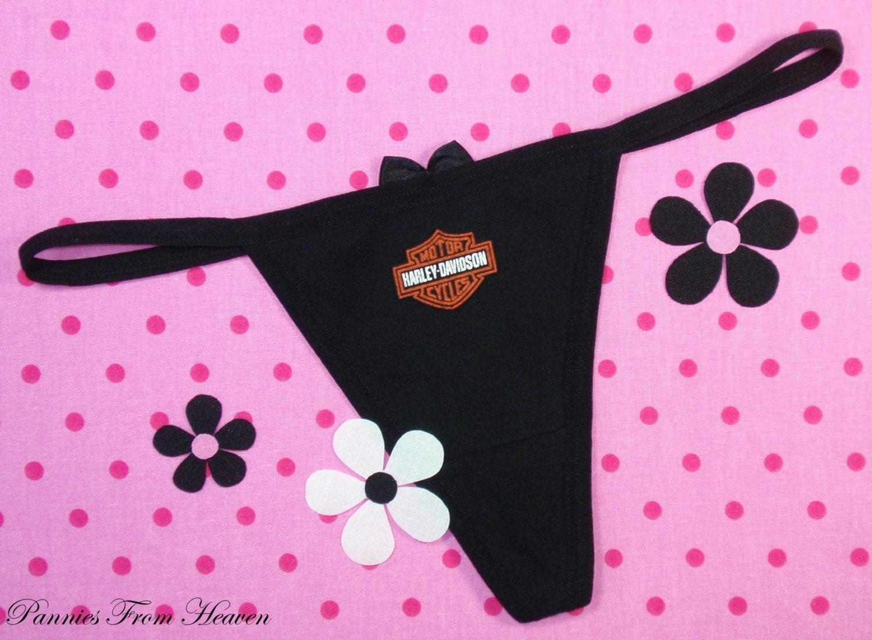 harley davidson sexy womens thong thongs panty panties biker. Black Bedroom Furniture Sets. Home Design Ideas