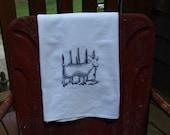 Toile Goat Flour Sack Towel