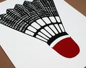Badminton Anyone - Limited Edition Silkscreen