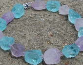 Necklace: Aquamarine Amet...