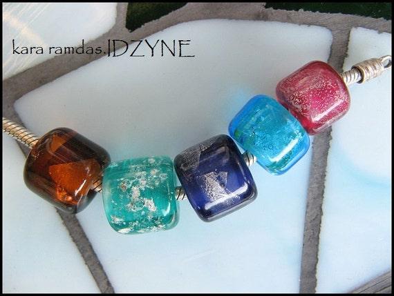 Pet Memorial Beads for BRACELETS, fits  Bead Big Hole Bead BHB Handmade Bead SRA - fits most European Bracelets