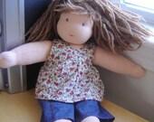 Custom  Waldorf doll (12 inches)