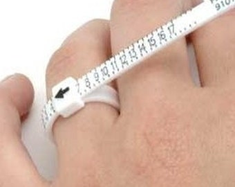 Plastic Ring Sizer- always Free shipping for this item U.S. Only