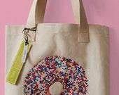 Sprinkles Doughnut Tote