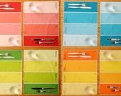 Placemats - Paint Chip Placemats - Set of 8