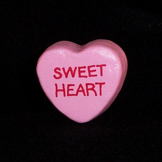 Sweetheart - Message Heart for Floral Arrangement/Cake Topper