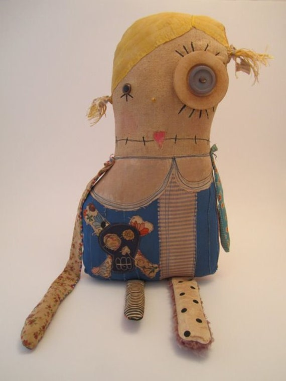 Grungy Monster Doll (ALICE)