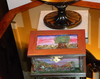 Decorative Collectible Wood Box