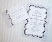 AVA- Wedding Invitation Sample Set