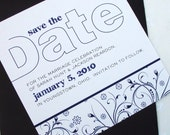 Amelie Square Save the Date