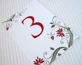 EDEN - Table Number Card