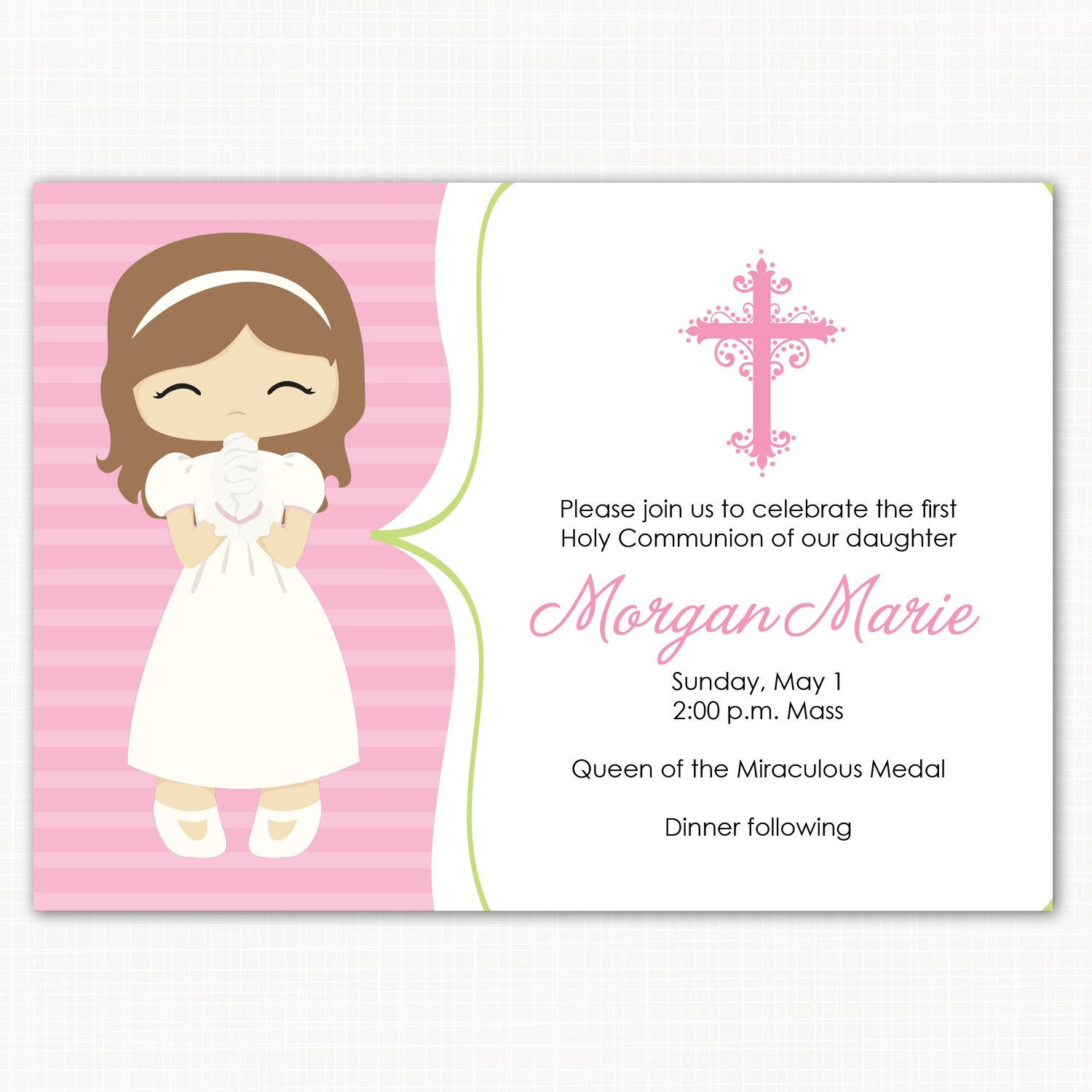 It's just a picture of Canny Free Printable First Communion Cards