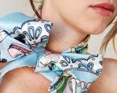 Marie Antoinette Silk Scarf