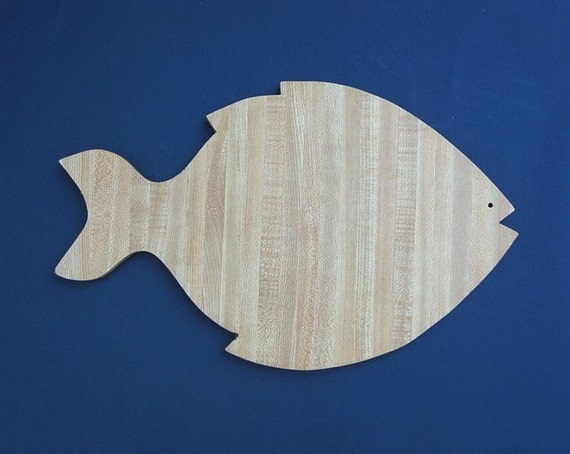 Sale vintage formica fish cutting board for Fish cutting board