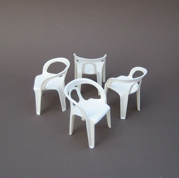 miniature henry massonnet stacking chairs rare design. Black Bedroom Furniture Sets. Home Design Ideas