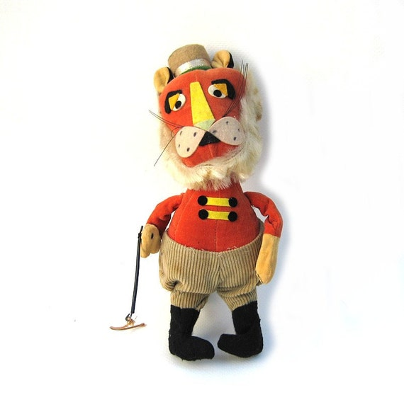 Dakin Dream Pet - Lion Tamer - 1960s Vintage Plush Toy