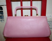 Perfectly pink vintage purse