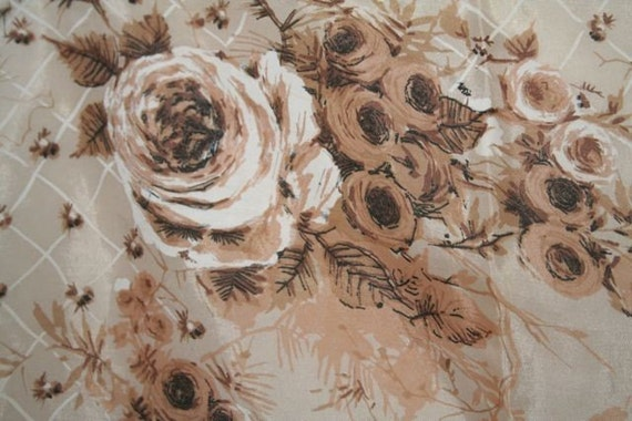 Vintage Rose Japanese Scarf