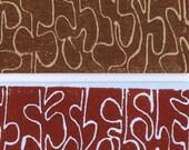 SALE - jade linoleum print card