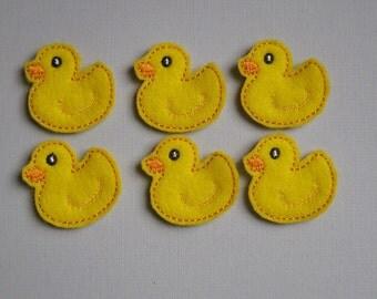 Little Rubber Duckie Felt Embellishment - 214