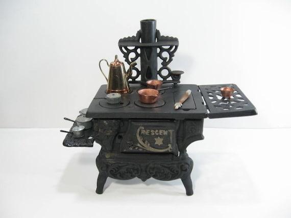 Vintage Crescent Cast Iron Stove