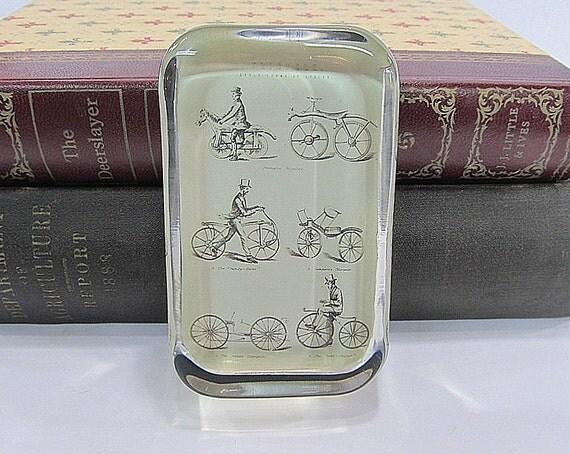 Vintage Bicycle Paperweight