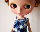 Blythe - Seashell top summer version - sea breeze