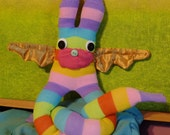 Golden-Winged Sock Bunny
