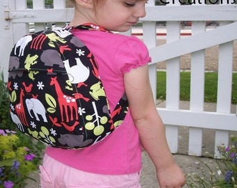Going to the Zoo Toddler Backpack