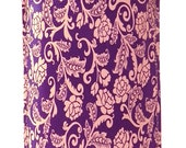 iPhone Case - Plum Fluers -  Hand Made . Customize size for any smart phone.