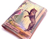 Passport Cover Leather - Big Bad Wolf - Little Red Riding Hood