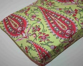 Cosmetic Bag - Amy Butler, Love - Cypress Paisley in Lime