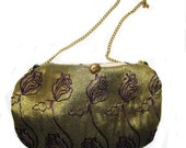 Gold and Purple Evening bag