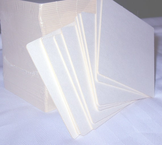Chipboard Coasters, 20 Blank White Square, 4 in. Papercraft Supply