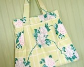 SALE Vintage Tablecloth Purse SALE
