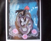 The Lovers, from Tarot, Greeting Card set of Four