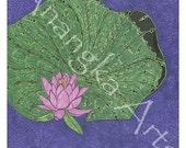 Lotus for Kaya, Fine Art Print, 8 x 10