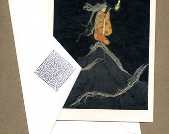 The Hermit, Greeting Card Set of Four