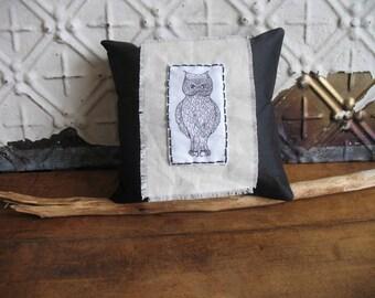 Exquisite Owl Mini Pillow
