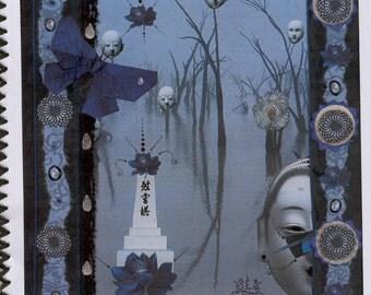 Edge of Midnight, Individual Greeting Card