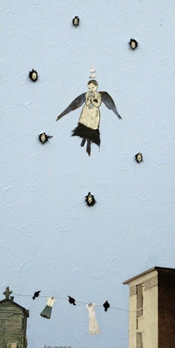 Bird Girl, Not Angel magnet