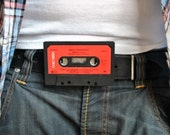 Belt Buckle made from a cassette tape- Bruce Springsteen - Human Touch