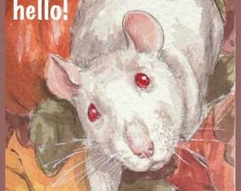 Autumn Rat