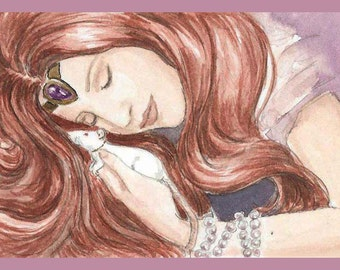 Red Haired Princess and her Rat