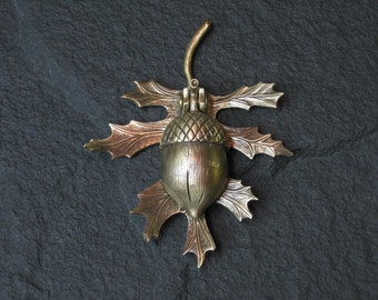 Bronze Oak leaf and Acorn Doorknocker