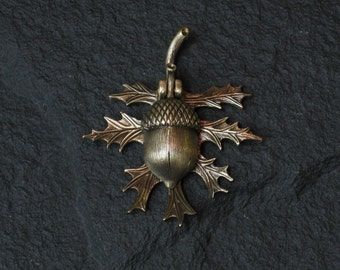 Bronze Oak Leaf and Acorn doorbell