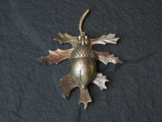 Bronze Oak Leaf And Acorn Doorknocker